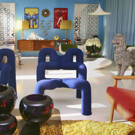 Retro Vintage design interior furniture