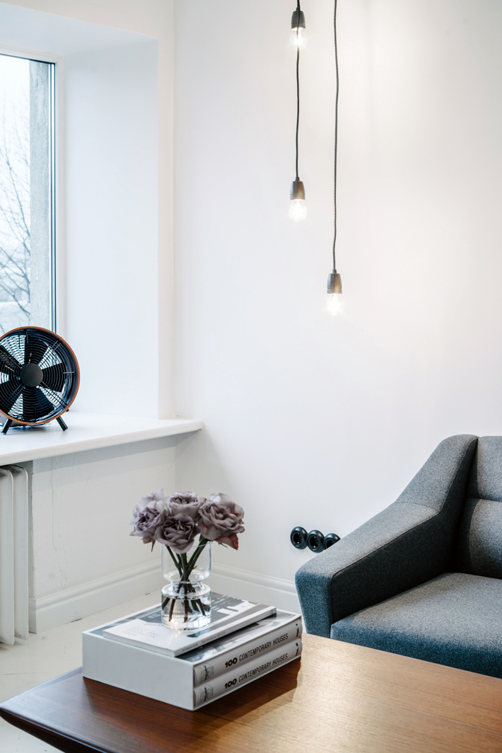 scandinavian style apartment in kalamaja - oot-oot - Wohnzimmer Im Retro Look