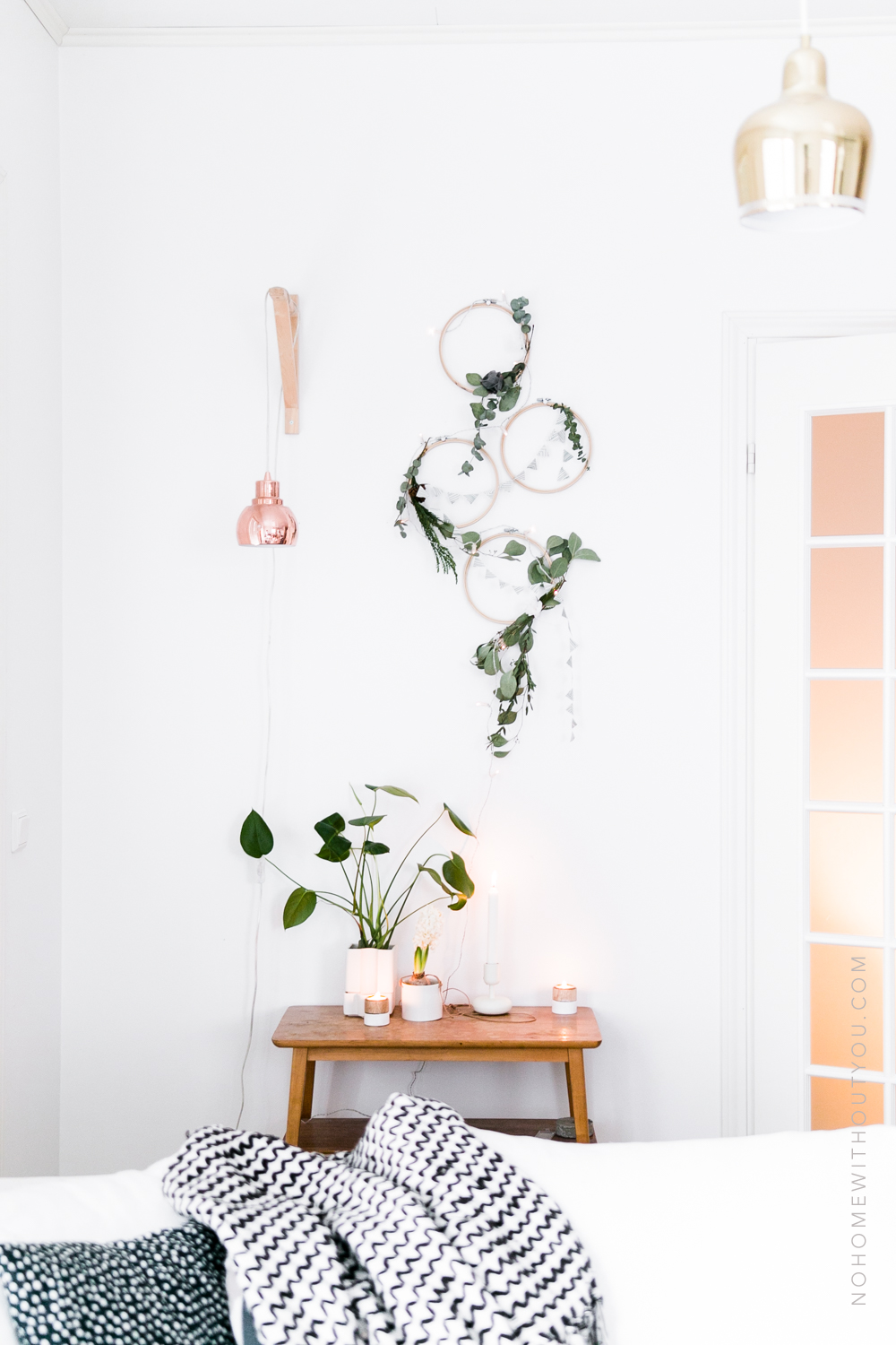 DIY-plant-wreath-eucalyptus-coniferous no home without you 4-of-8-2